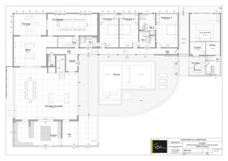 Floor Plans - Domaine des Fonds Blancs
